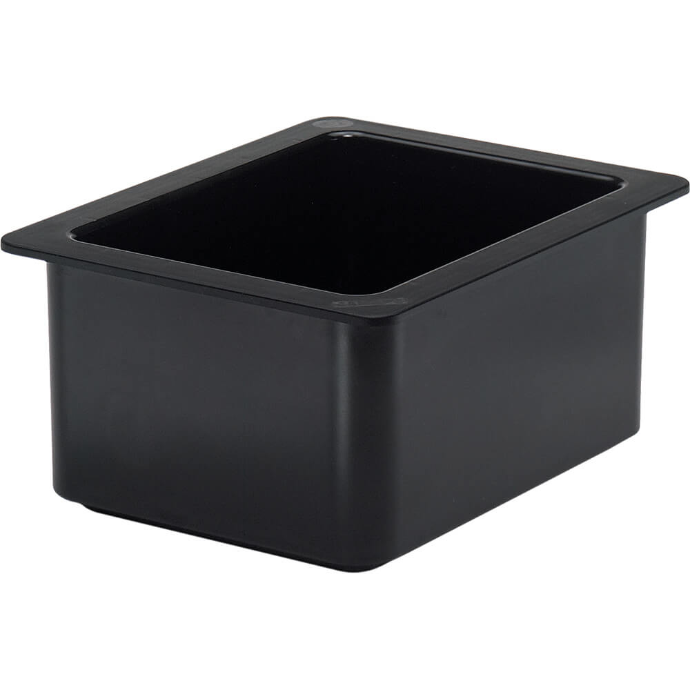 Black, 1/2 GN Cold Food Pan, 6.5 Qt.