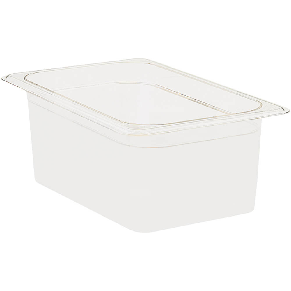 "White, 1/2 GN Food Pan, 6"" Deep, 6/PK"