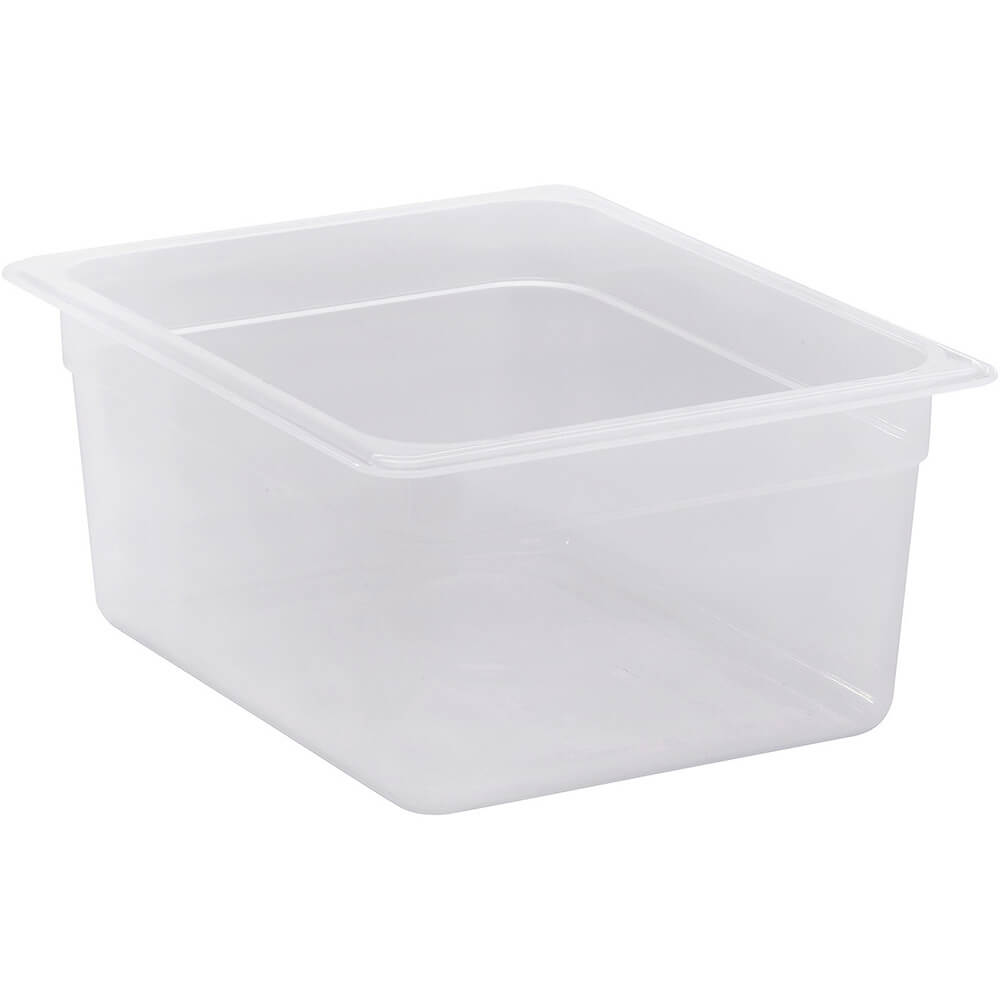 "Translucent, 1/2 GN Food Pan, 6"" Deep, 6/PK"