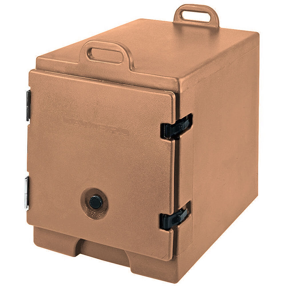 Coffee Beige, Insulated Front Loading Food Carrier, Full Size Pans View 2