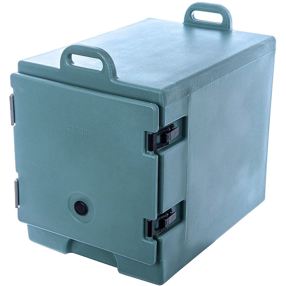 Slate Blue, Insulated Food Carrier for 13x18 Sheet Pans, Stackable View 2