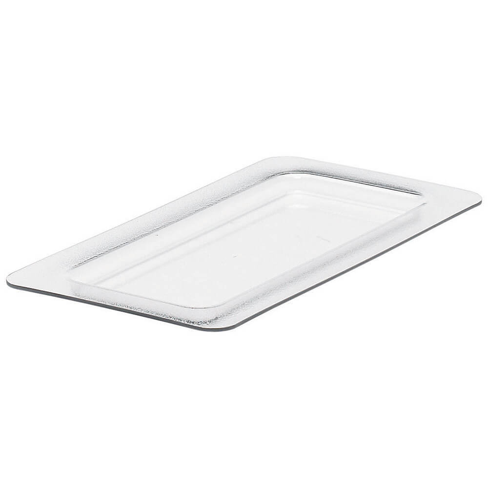 Clear, Cold Food Pan Flat Lid, Fits GN 1/3, 2/PK