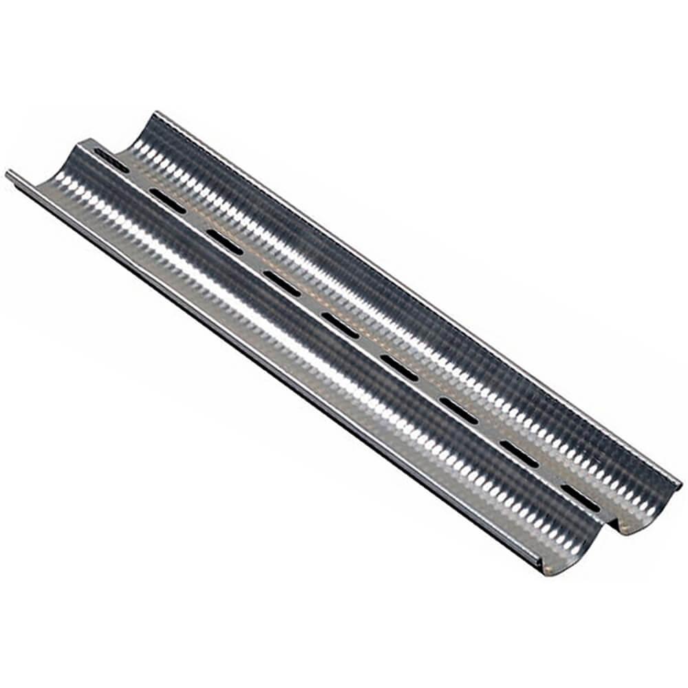"""Aluminum Alloy Baguette Baking Pan, 17.75"""", 2 Compartments"""