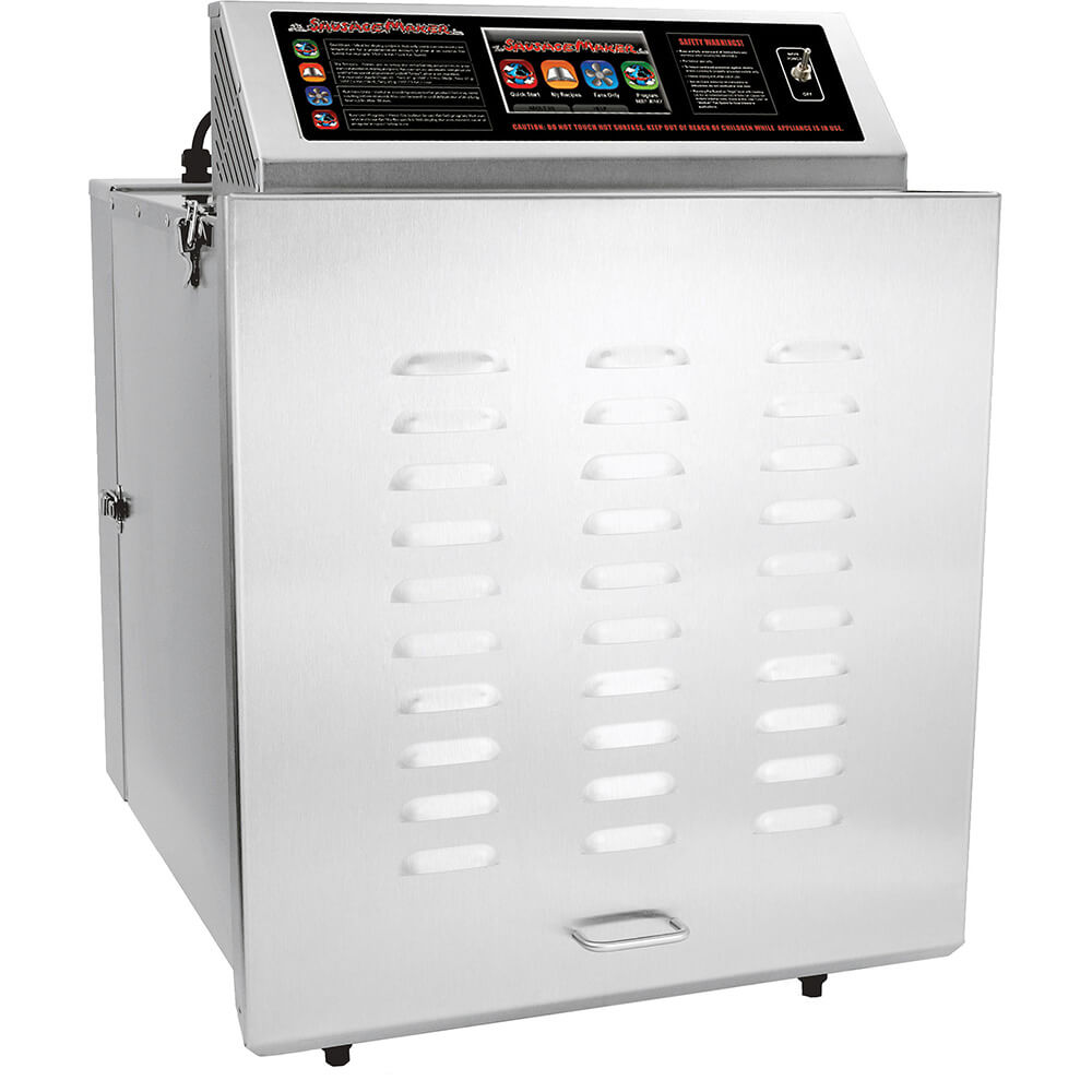 D-14 Digital Touch Screen Food Dehydrator with Stainless Steel Shelves, 220V