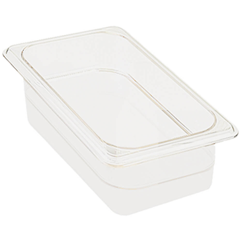 "White, 1/3 GN Food Pan, 2-1/2"" Deep, 6/PK"