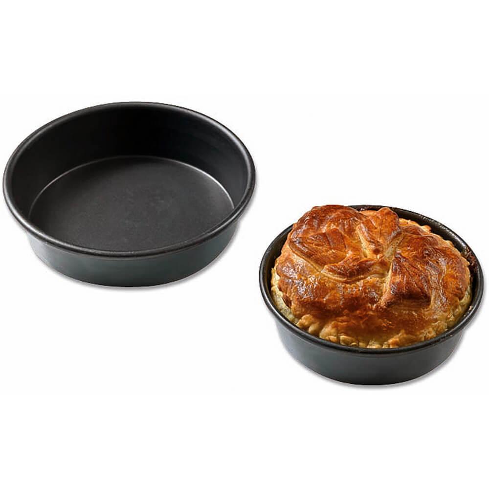 """Aluminum Exal Non-stick, Deep Cake Pan, 9.5"""""""