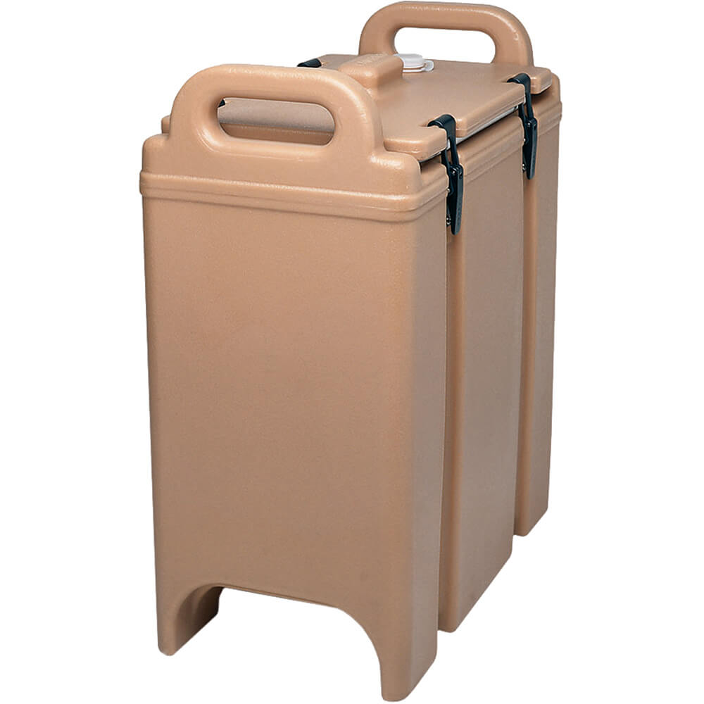 Coffee Beige, 3-3/8 Gal. Insulated Soup Container