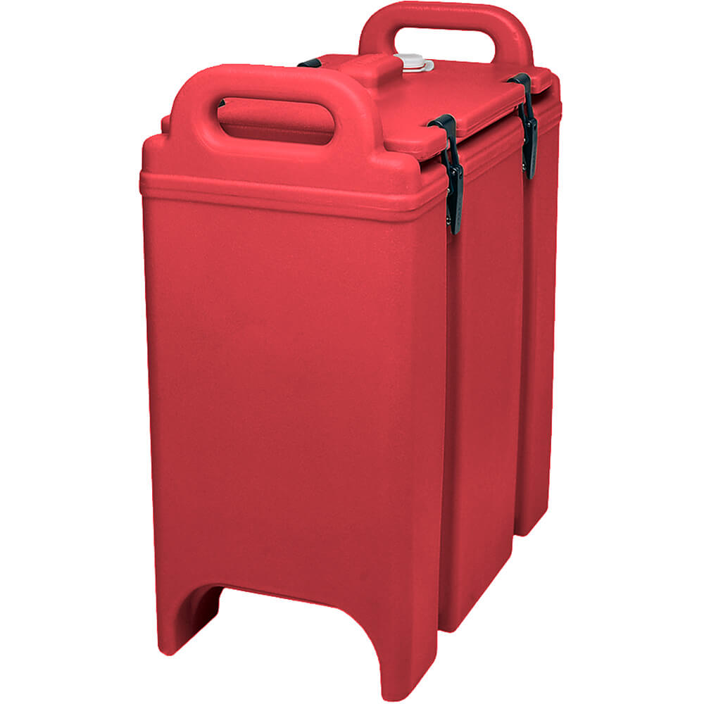 Hot Red, 3-3/8 Gal. Insulated Soup Container