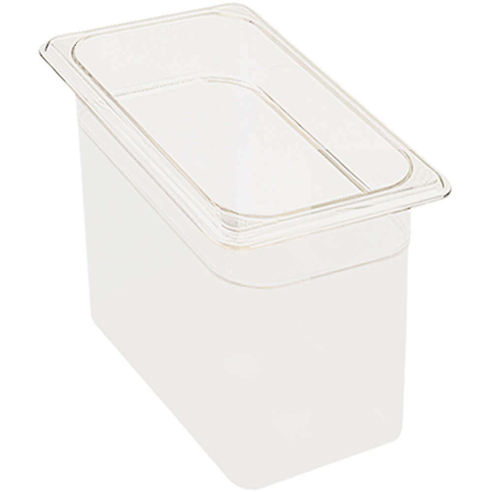 "White, 1/3 GN Food Pan, 6"" Deep, 6/PK"