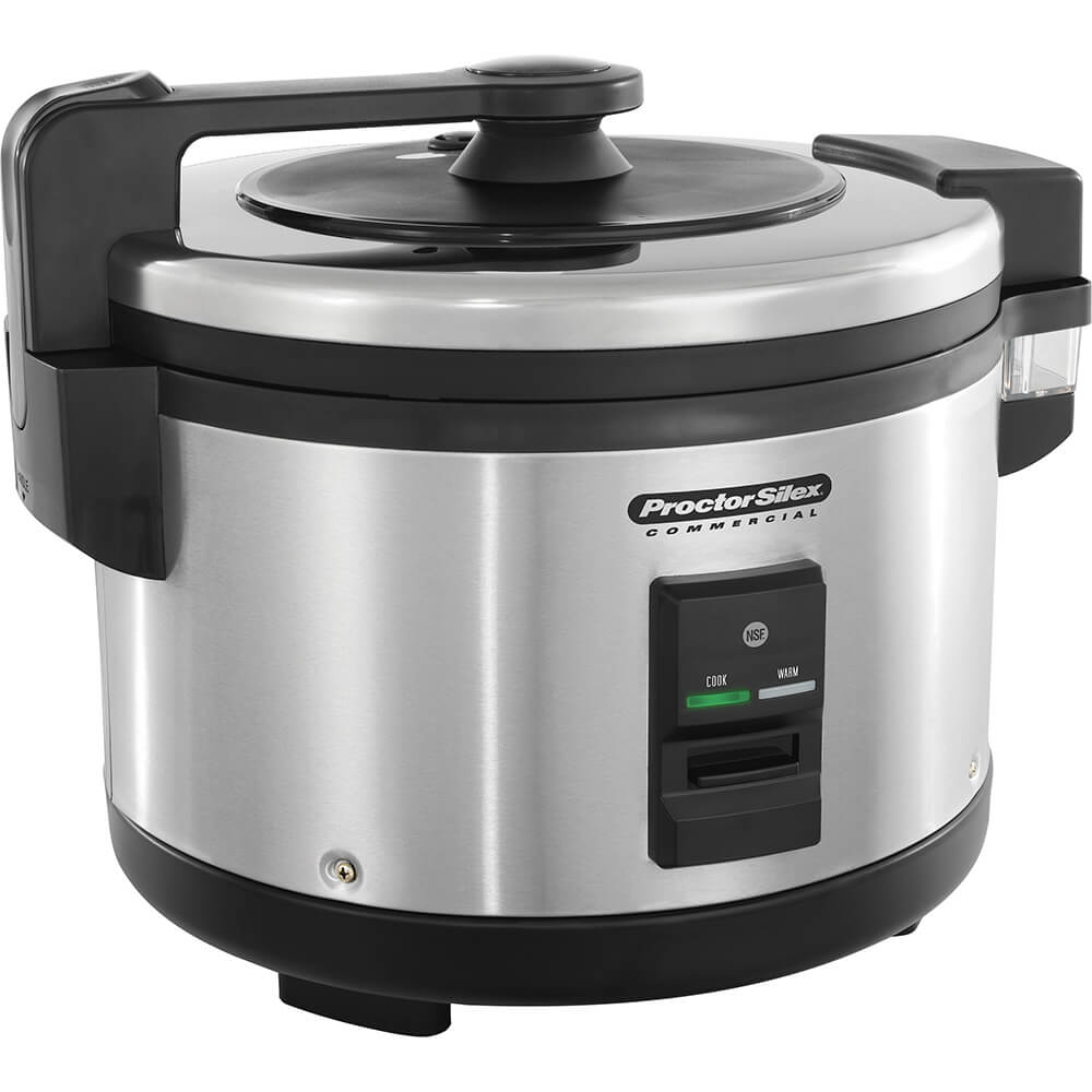 Commercial Rice Cooker, 20 Cups (uncooked) Capacity, 1500 W