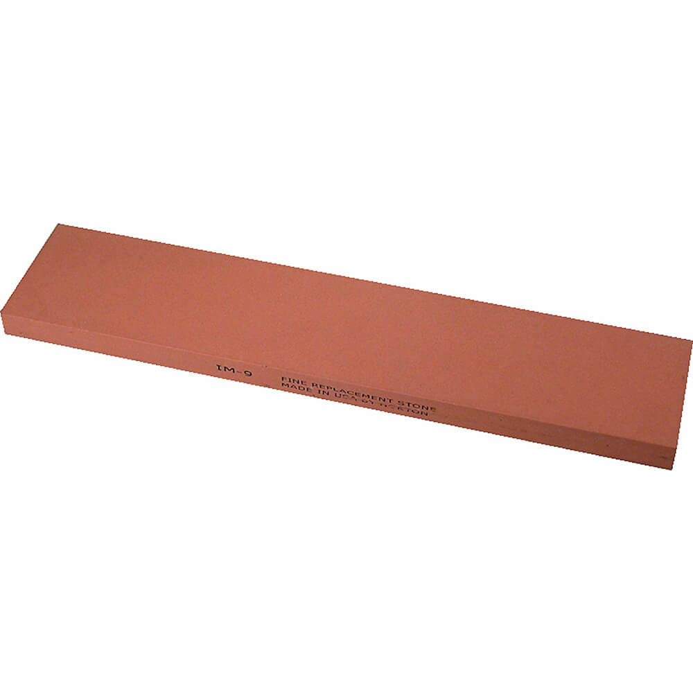 India Fine Sharpening Stone, Fine Grit