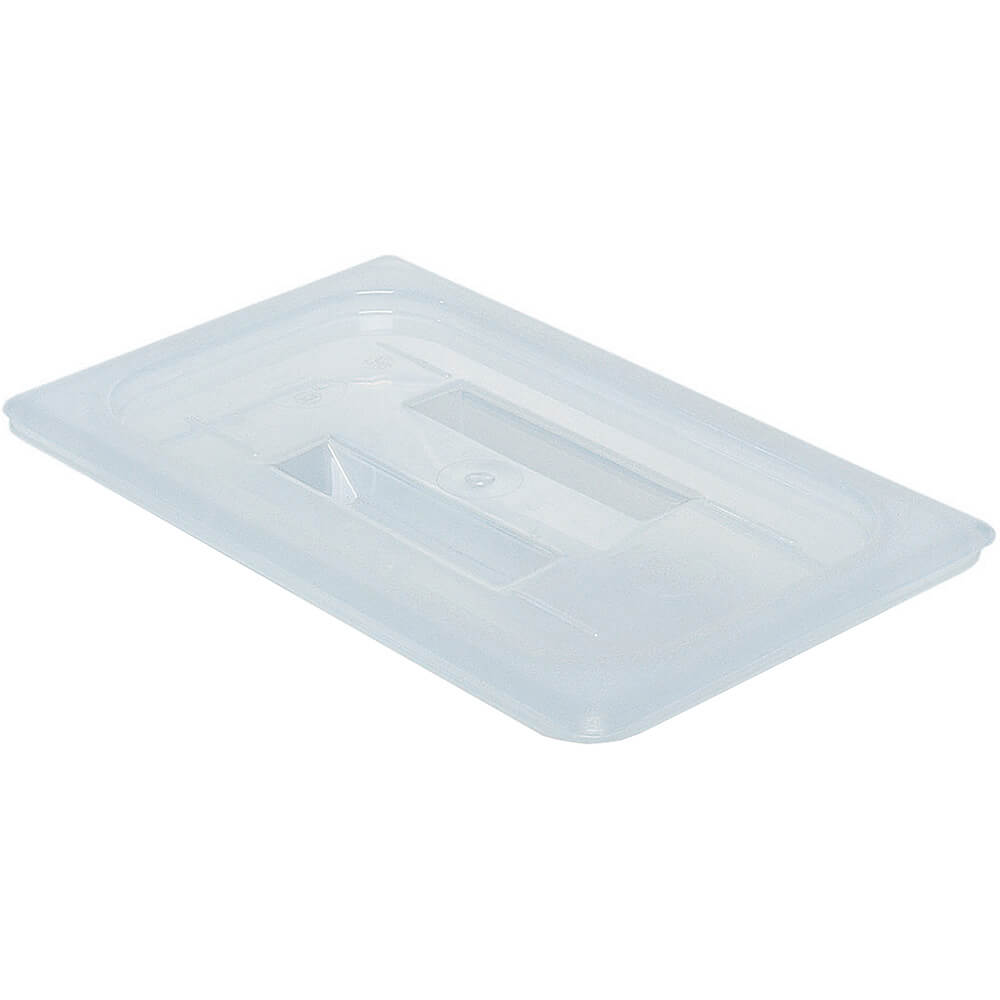 Translucent, 1/4 GN Lid with Handle, 6/PK