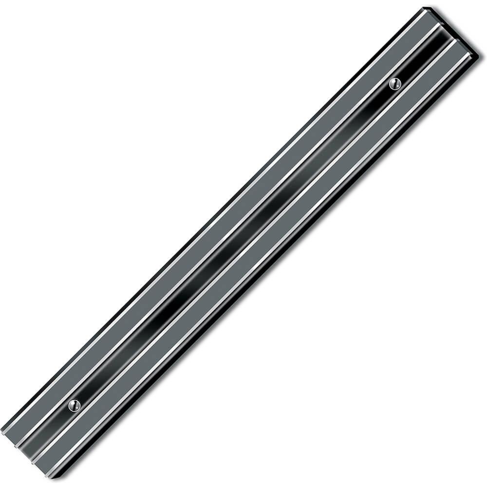 "Black, Magnetic Knife Holder, Small, 12"" X 1-5/8"" X 7/8"""