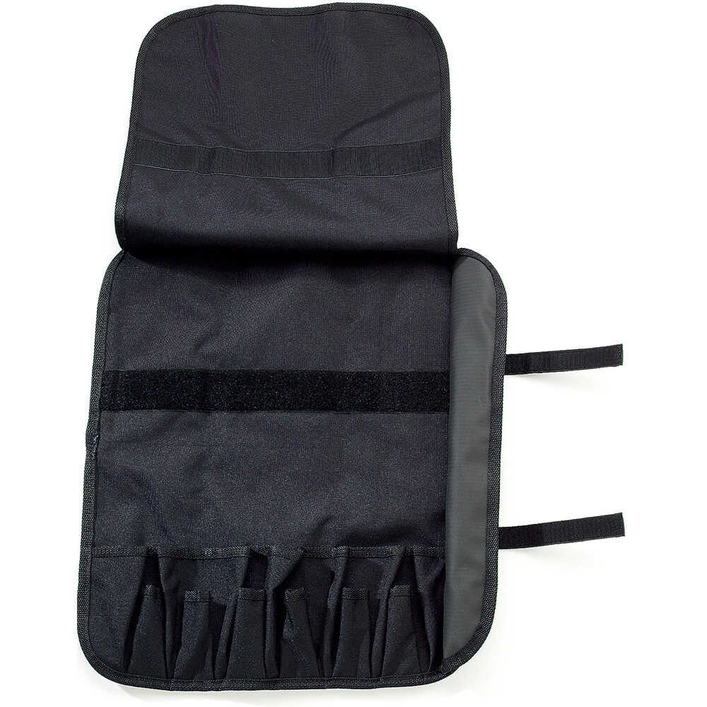 "Soft Knife Case, Black Polyester, Holds Up To 13 Knives 14"" Long View 2"