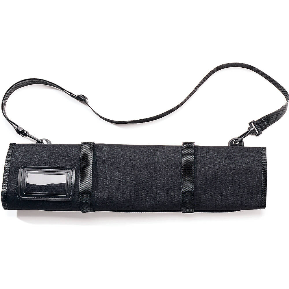 "Soft Knife Case, Black Polyester, Holds Up To 13 Knives 14"" Long"