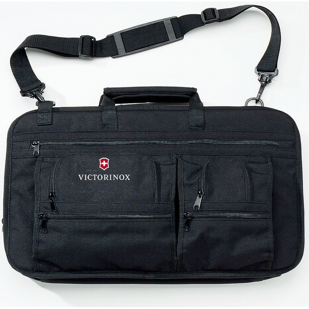 "Soft Executive 12 Knife Case, Black Polyester, 12"" Max. Knife Length"