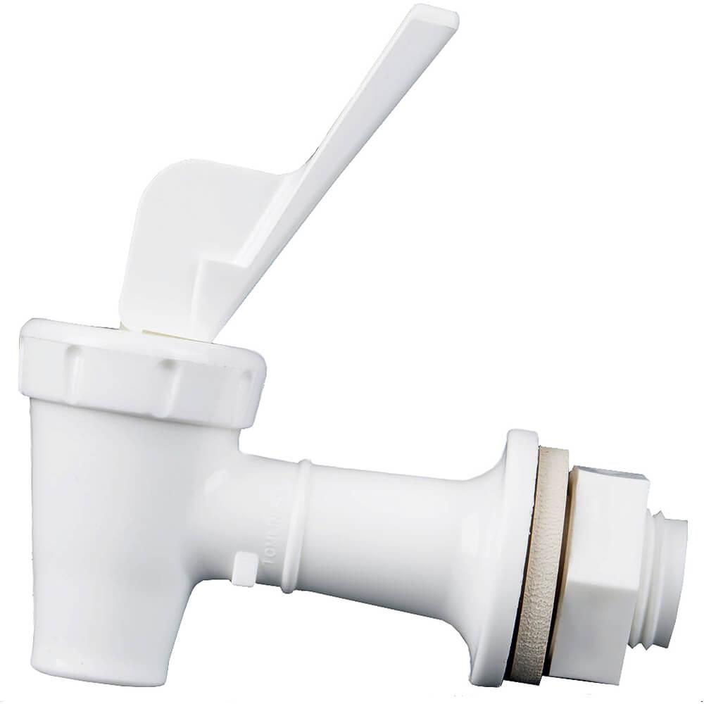 1-White Faucet