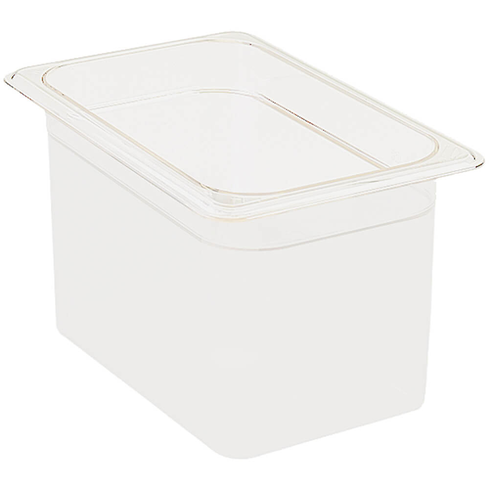 "White, 1/4 GN Food Pan, 6"" Deep, 6/PK"
