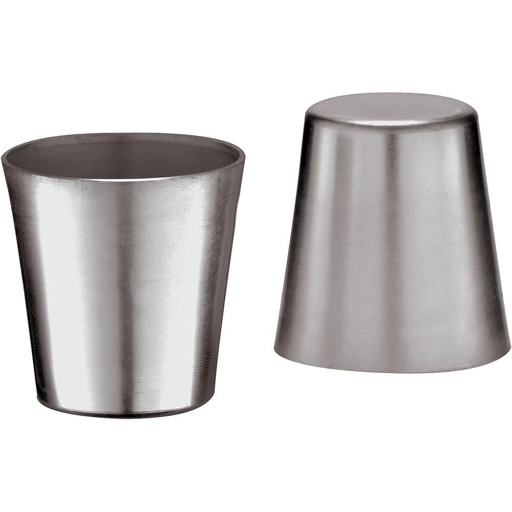 Aluminum Dariole/baba Mold, 0.03 Qt, 10/PK