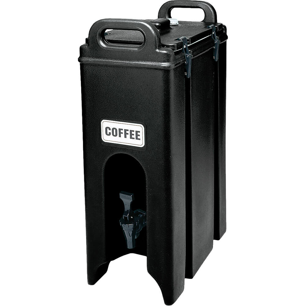 Black, 4.75 Gal. Insulated Beverage Dispenser