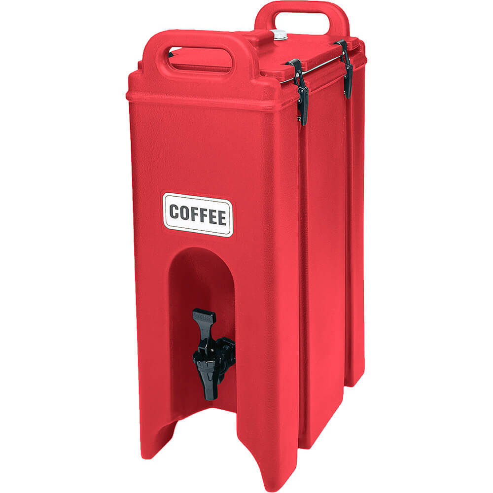 Hot Red, 4.75 Gal. Insulated Beverage Dispenser