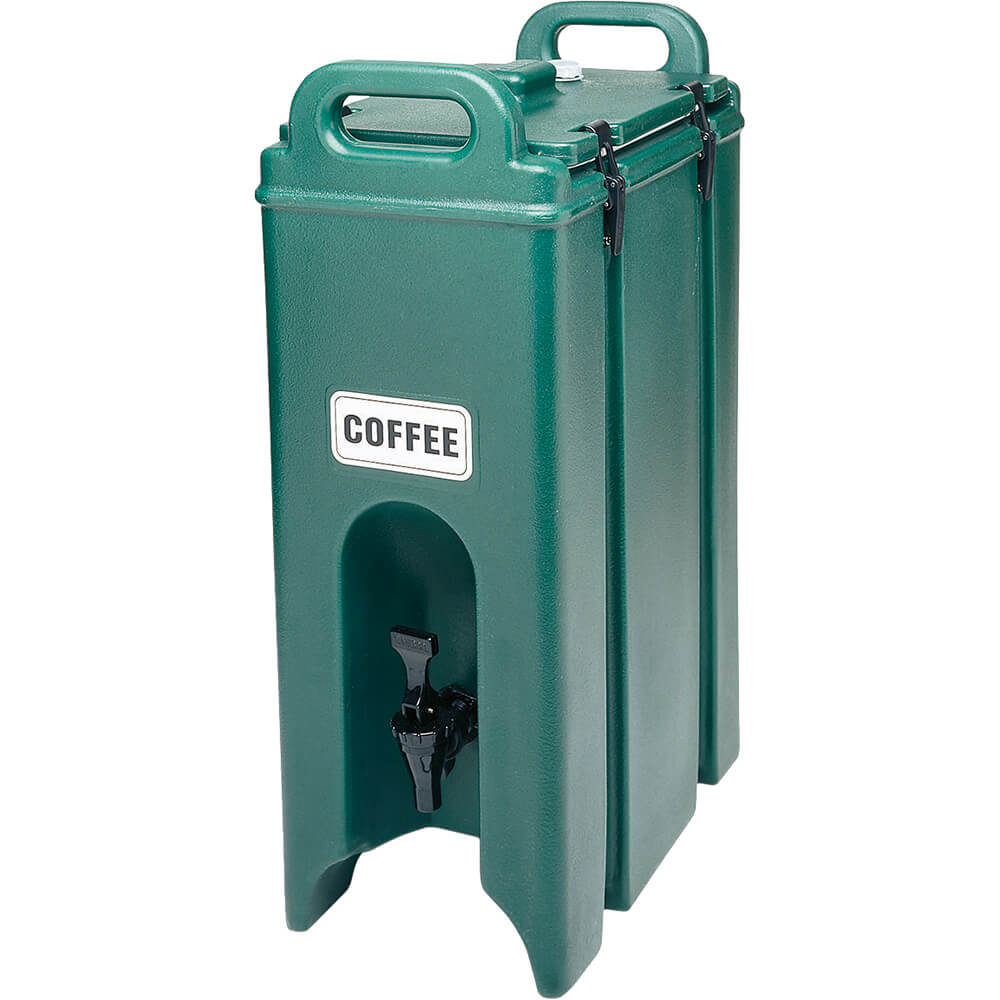 Green, 4.75 Gal. Insulated Beverage Dispenser