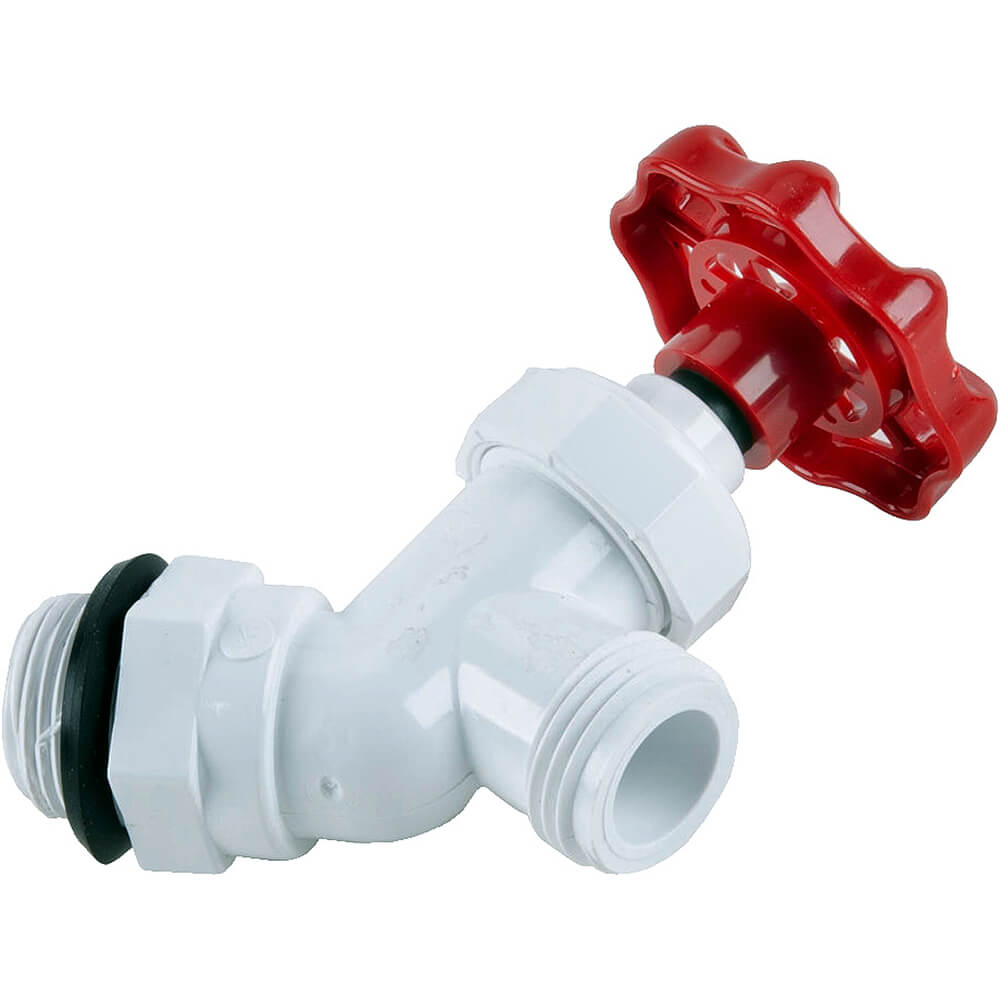1-Threaded Faucet (46016), 1-Rubber Washer (12304)
