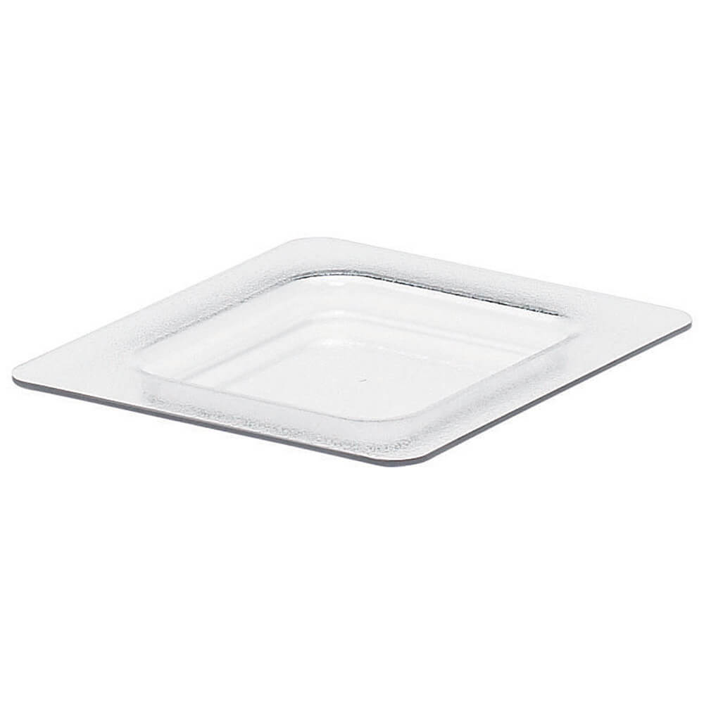 Clear, Cold Food Pan Flat Lid, Fits GN 1/6, 2/PK