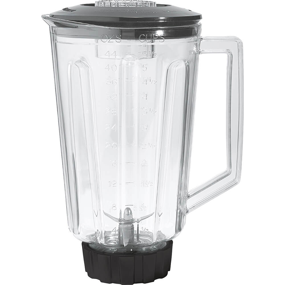 Clear, 44 Oz. Polycarbonate Replacement Blender Jar for HBB908 Series
