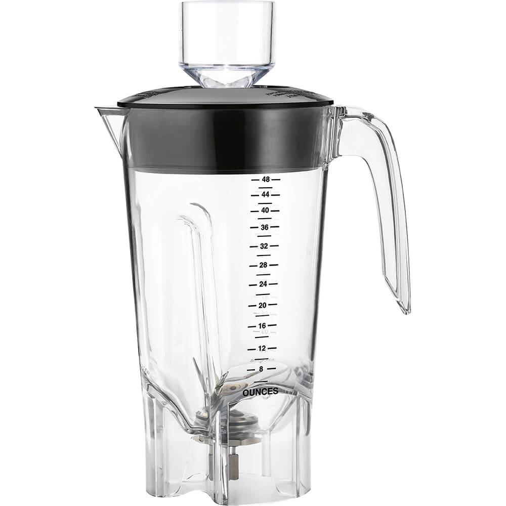 Clear, 48 Oz. Polycarbonate Replacement Blender Jar for HBF500 Series