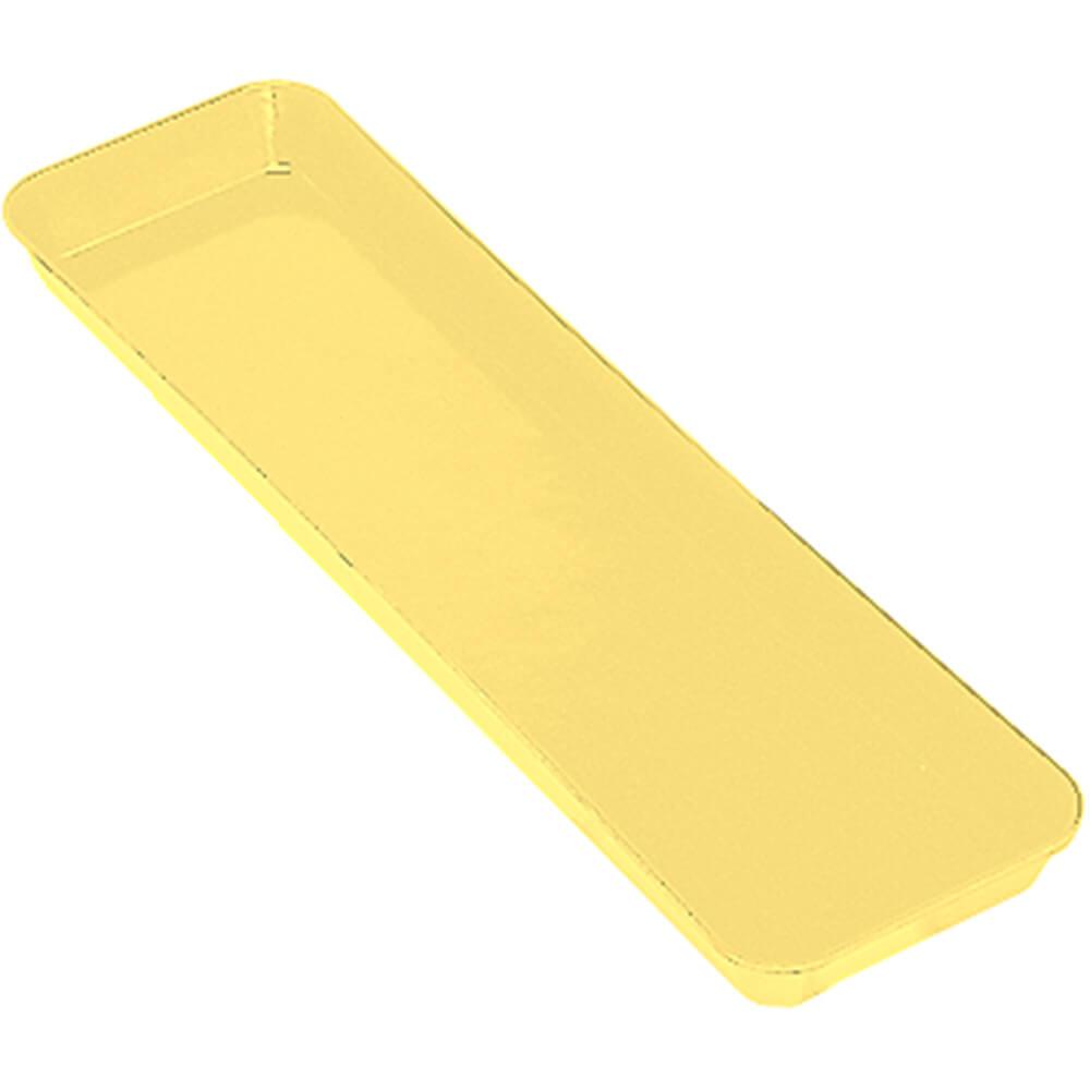 "Yellow, 6"" x 30"" x 2"" Deli / Bakery Display Pans, 12/PK"