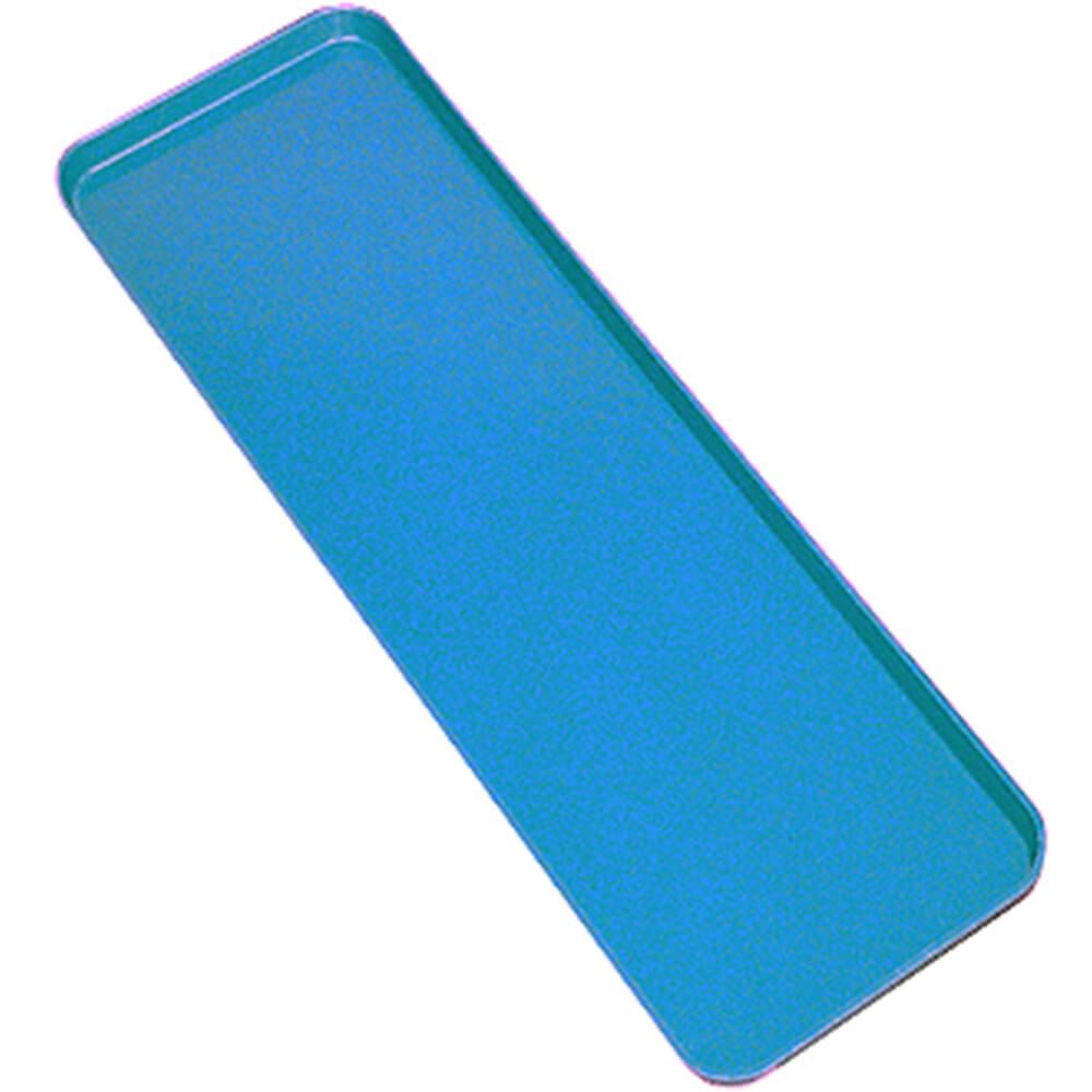 "Blue, 6"" x 30"" x 3/4"" Deli / Bakery Display Trays, 12/PK"