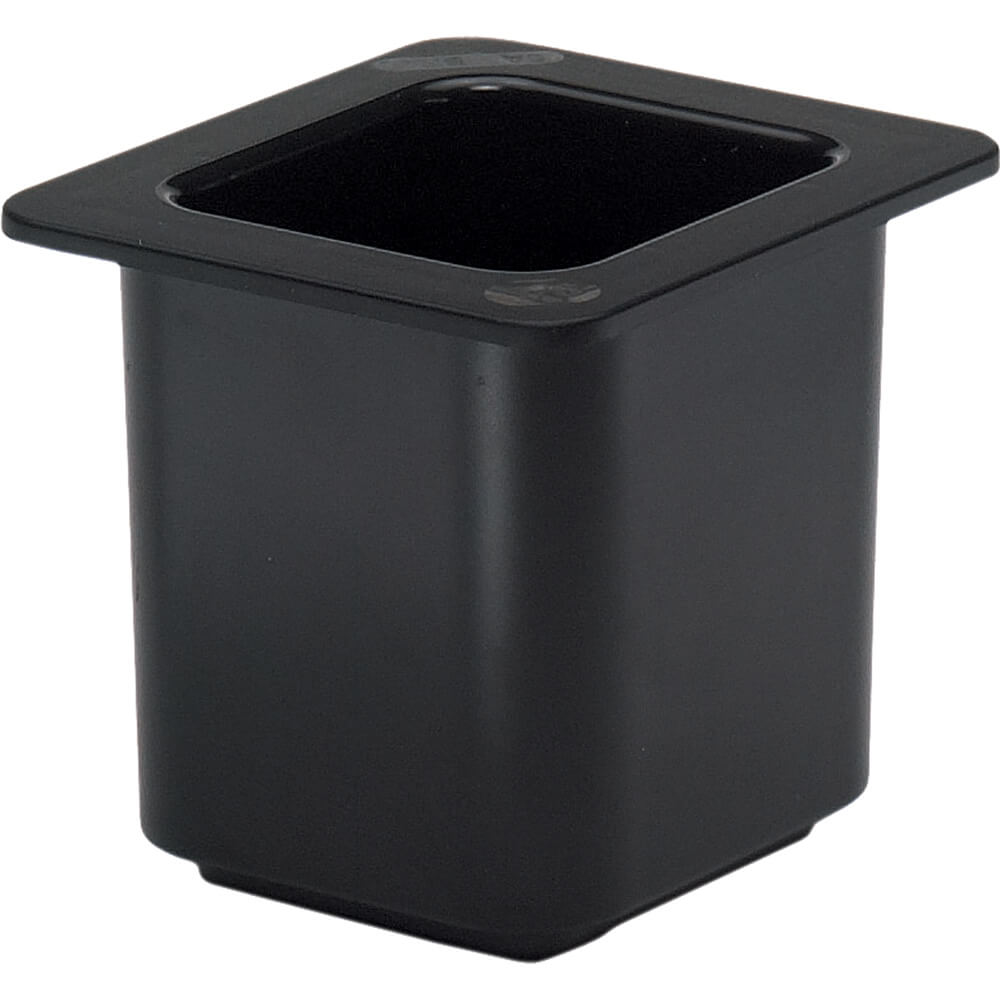 Black, 1/6 GN Cold Food Pan, 1.5 Qt.