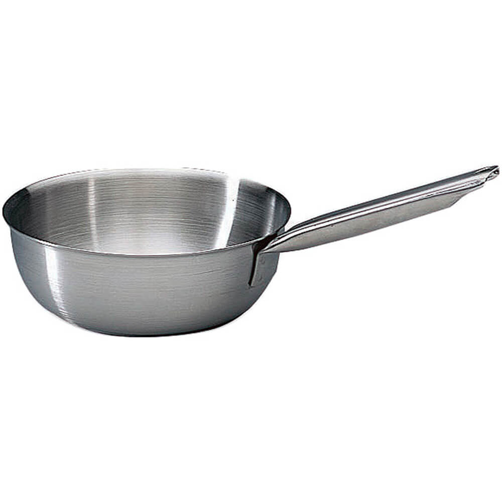 """Stainless Steel Tradition Saucier Pan Without Lid, 9.5"""""""