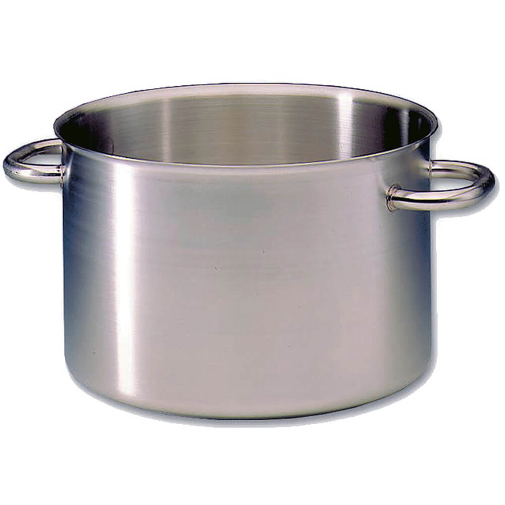 Stainless Steel, Excellence Half Stock Pot Without Lid, 11.5 Qt.