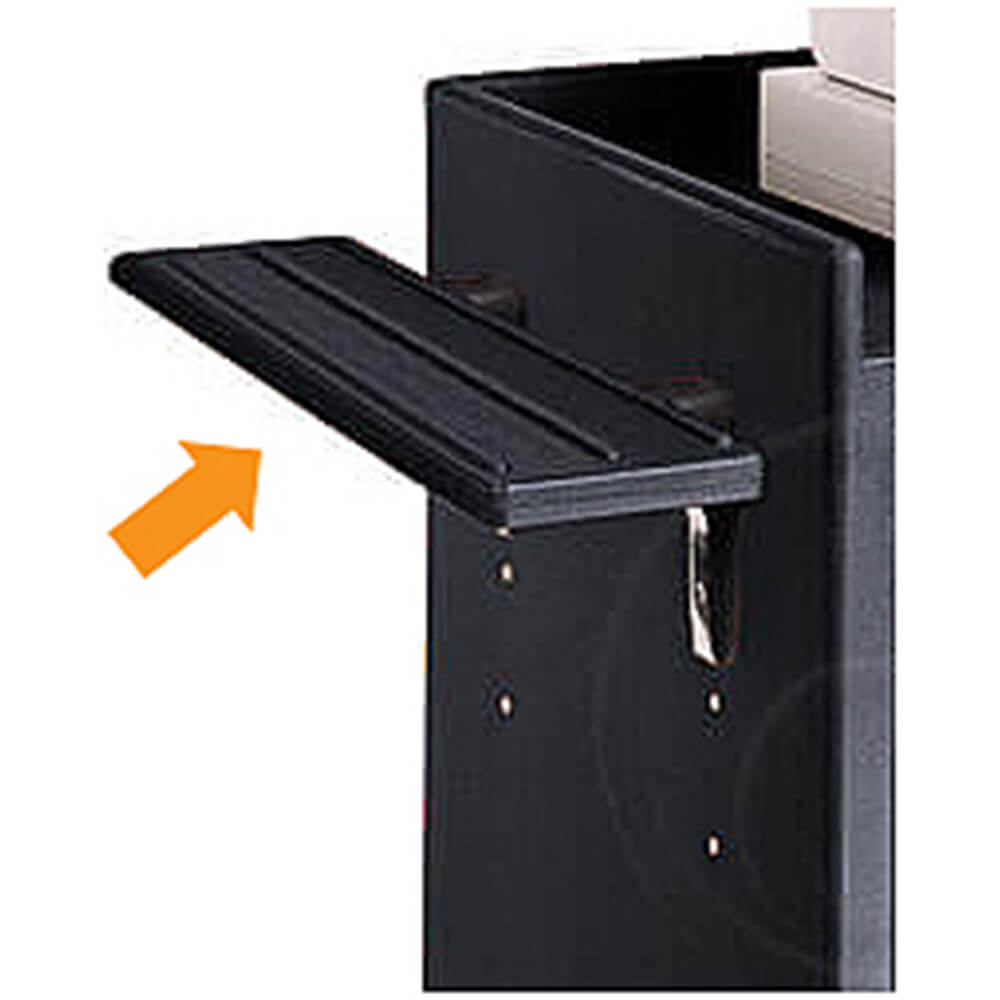 Tray Rail for ES Register Stands
