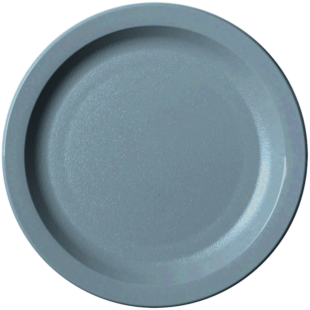 "Slate Blue, 7-1/4"" Narrow Rim Plate, Unbreakable Dinnerware, 48/PK"
