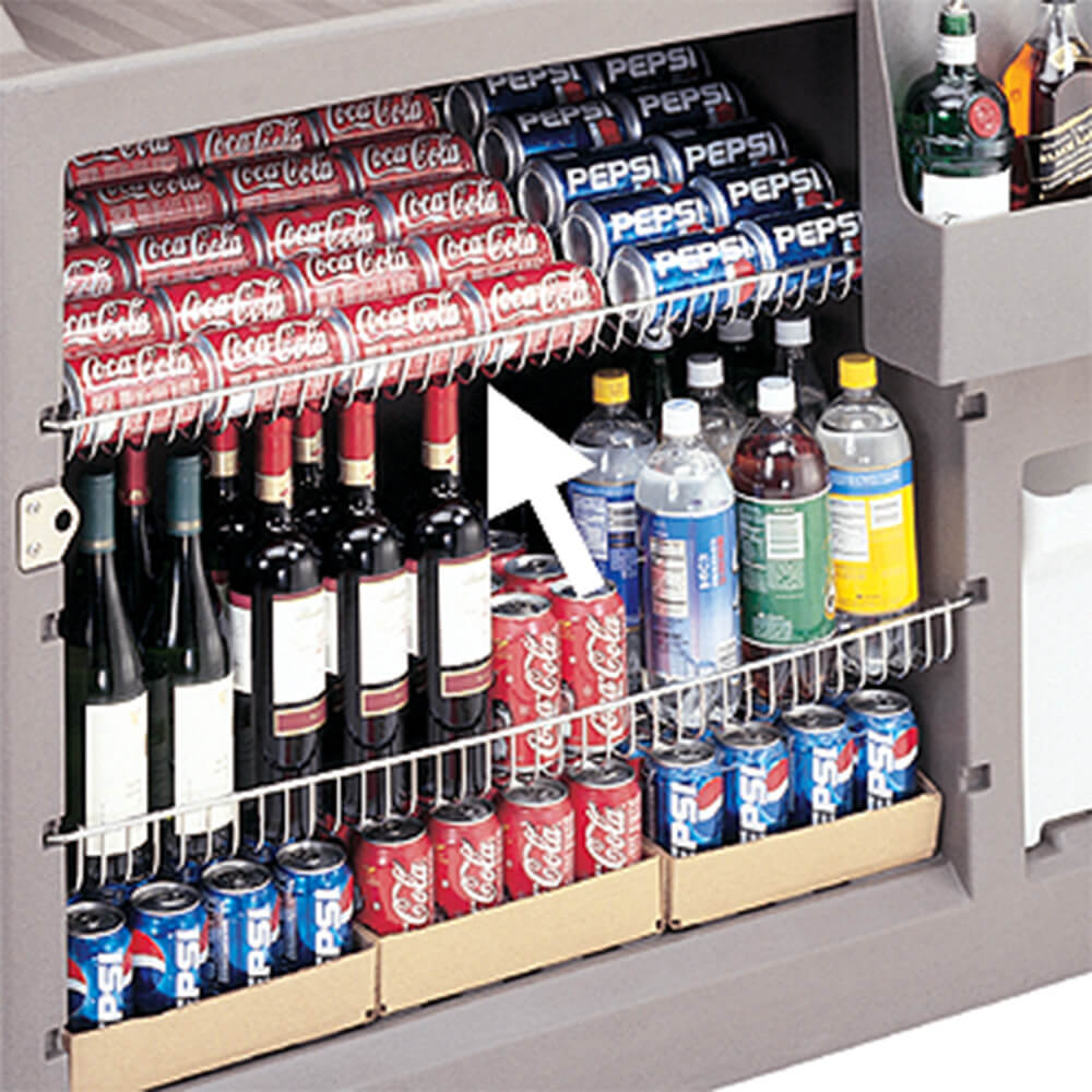 Wire Shelving, Fits 730 Bar Models