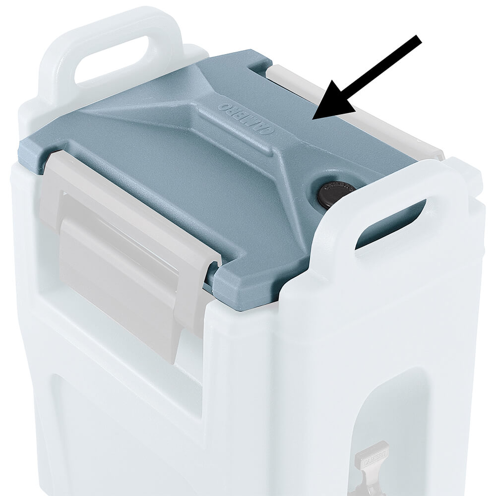 1-Lid, 1-Gasket, 1-Vent Pop up Vent Cap (H07001)