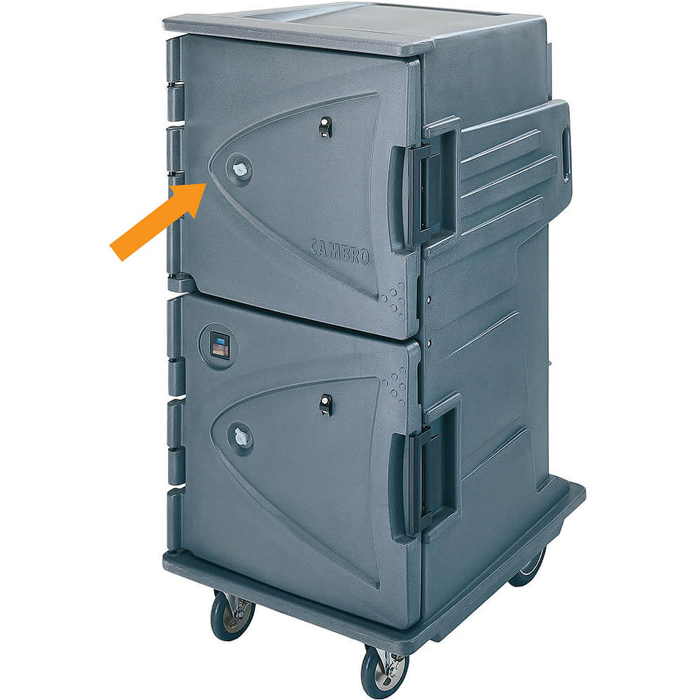 Upper Door Kit for Double Compartment Camtherm Carts