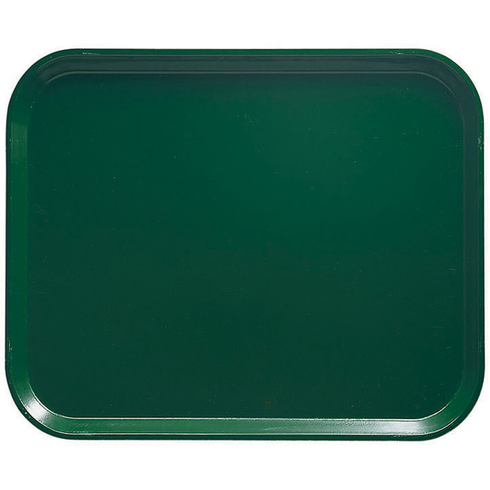 "Sherwood Green, 8"" x 10"" Food Trays, Fiberglass, 12/PK"