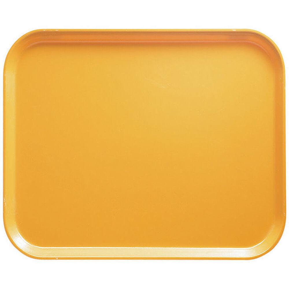 "Tuscan Gold, 8"" x 10"" Food Trays, Fiberglass, 12/PK"