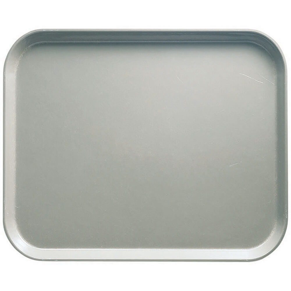 "Taupe, 8"" x 10"" Food Trays, Fiberglass, 12/PK"