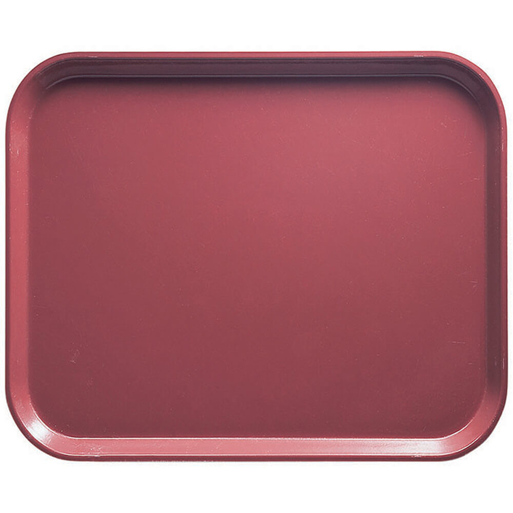 "Raspberry Cream, 8"" x 10"" Food Trays, Fiberglass, 12/PK"