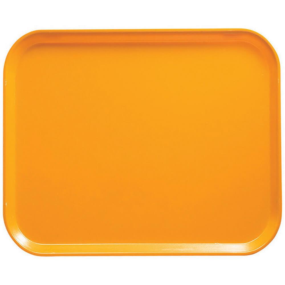 """Mustard, 8"""" x 10"""" Food Trays, Fiberglass, 12/PK"""