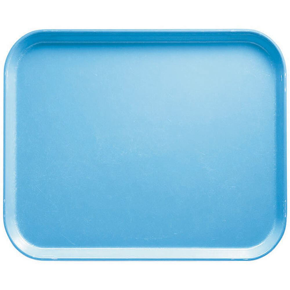 "Robin Egg Blue, 8"" x 10"" Food Trays, Fiberglass, 12/PK"