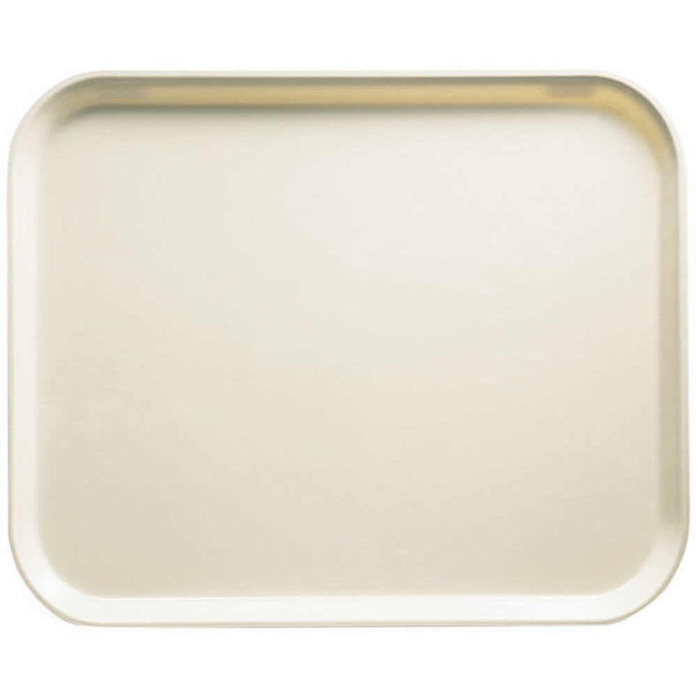 "Cottage White, 8"" x 10"" Food Trays, Fiberglass, 12/PK"