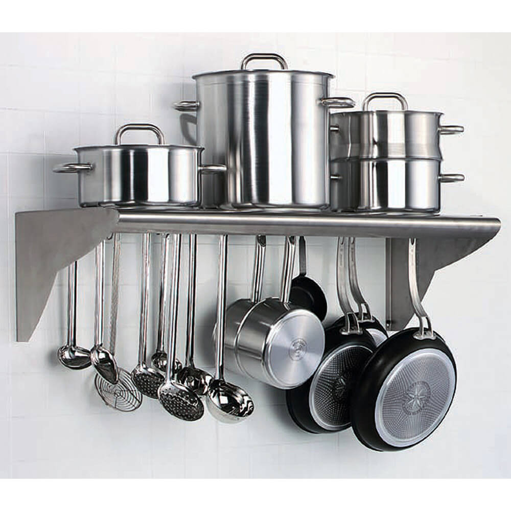 matfer bourgeat stainless steel utensil and pot hanger. Black Bedroom Furniture Sets. Home Design Ideas