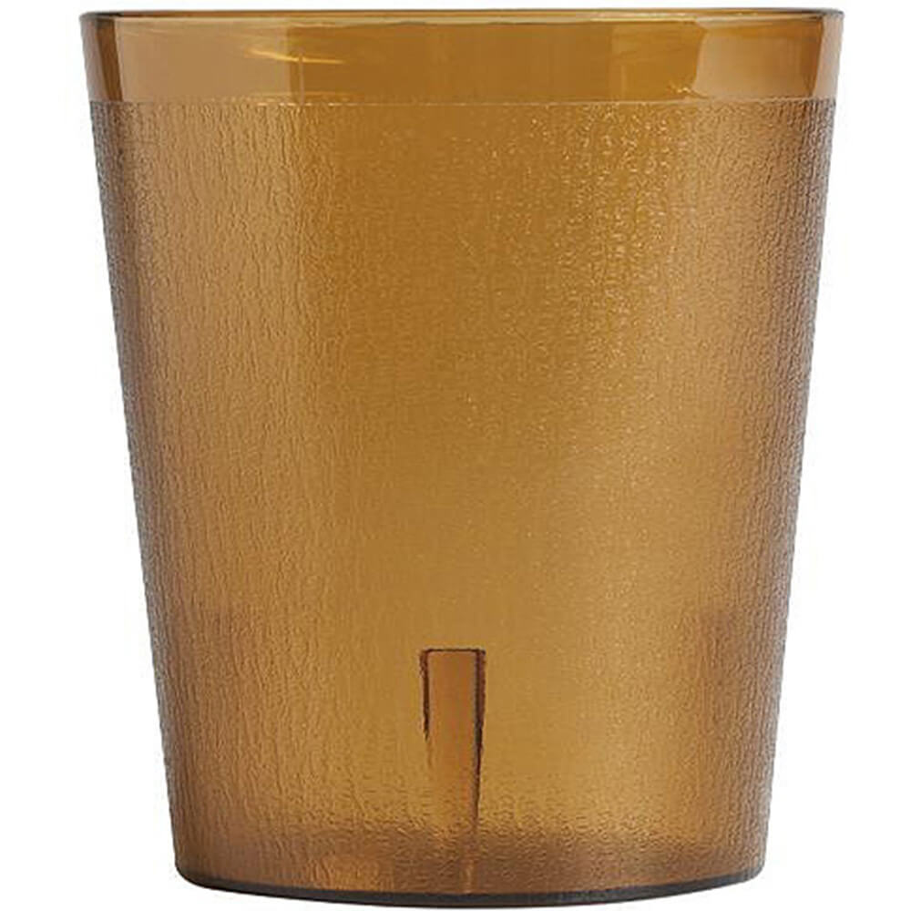 Amber, 9.7 Oz. Colorware Tumblers, 24/PK