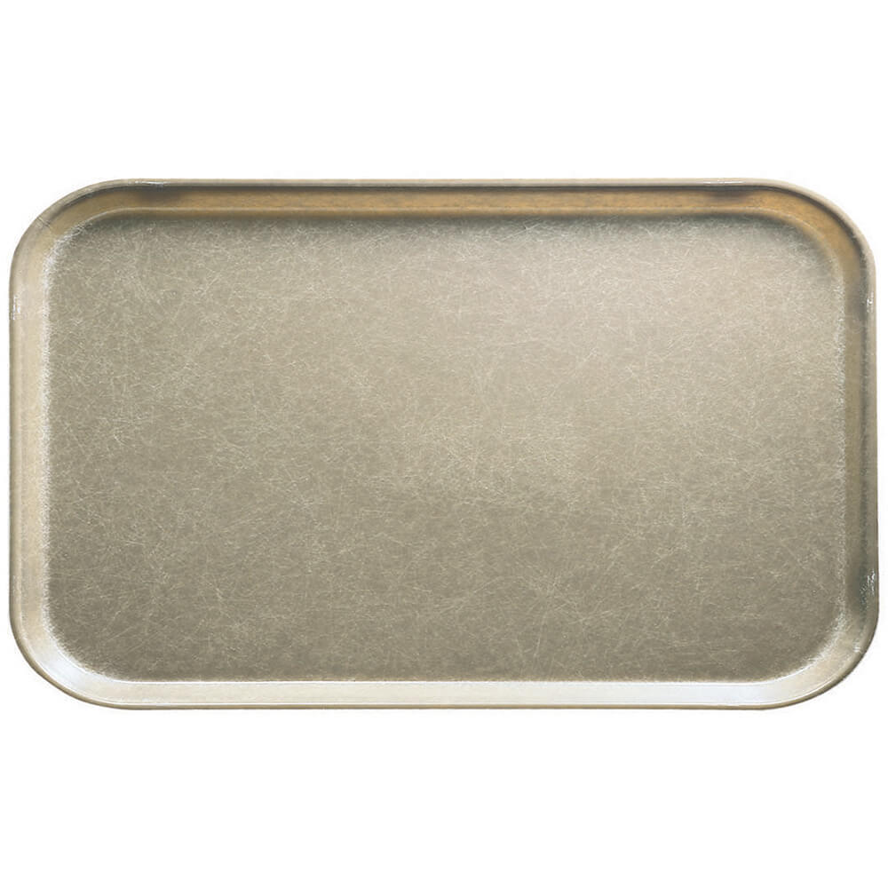 "Desert Tan, 8-3/4"" x 15"" Food Trays, Fiberglass, 12/PK"